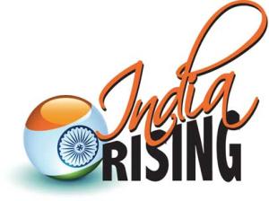 India Rising logo