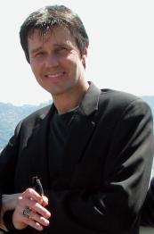 Host David Brown on Sugar Loaf<BR>Mountain, Rio de Janeiro